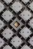 Circuits intégrés de SMD images stock