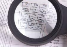 Circuits pour le plan rapproché de fond ou de conception photographie stock libre de droits