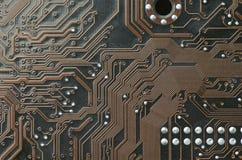 Circuits pour le plan rapproché de fond ou de conception photographie stock