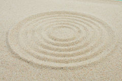 Circuits in sand Royalty Free Stock Images