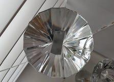Circulaire en verre images libres de droits