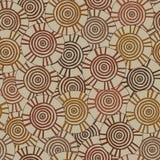 Circulaire, modèle tribal avec des motifs de tribus africaines Surma et Mursi Illustration de Vecteur