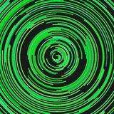 Circular abstract background from concentric half circles. Circular abstract background - vector graphic from concentric half circles royalty free illustration