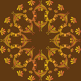 Circular abstract pattern in Arabic style. Royalty Free Stock Photography