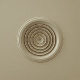 Circular air vent Royalty Free Stock Image