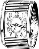Circular Alarm Clock Royalty Free Stock Photography
