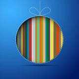 Circular background. Colorful circle on a blue square background Royalty Free Stock Photography