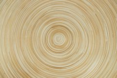 Circular bamboo texture for background.  Stock Photography