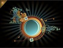 Circular banner vector Stock Image