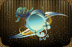 Circular banner vector Stock Photo