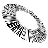 Circular bar code Stock Image