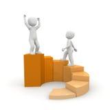 Circular bar graph Stock Photography