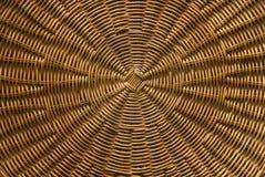 Circular basket weave pattern Royalty Free Stock Image
