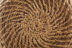 Circular basketry handmade Royalty Free Stock Photos