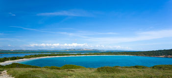 Circular bay near Cabo Rojo Royalty Free Stock Photo
