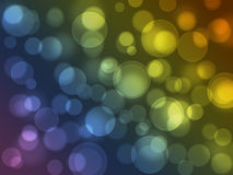 Circular bokeh background Royalty Free Stock Image