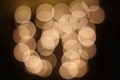 Circular Bokeh Royalty Free Stock Photography