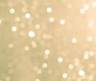 Circular bokeh background daylight in the forest Royalty Free Stock Photo
