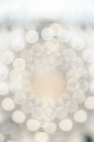 Circular Bokeh light,. Shimmering blur spot lights on colorful abstract background Royalty Free Stock Photography