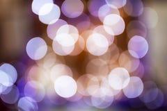 Circular bokeh lights Royalty Free Stock Photos