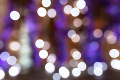 Circular bokeh lights Royalty Free Stock Photography