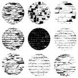 Circular Brick Textures Royalty Free Stock Photos