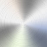 Circular brushed metal texture Royalty Free Stock Image