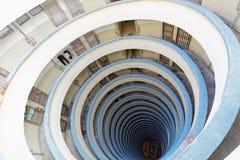 Circular building in Hong Kong, Lai Tak estate Stock Photography