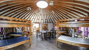 Circular Cabin at Camp Edwards YMCA in East Troy, WI