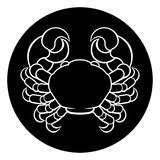 Cancer Crab Zodiac Sign Stock Photography