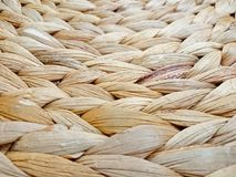 Basket Weaving Reed and Cane Pattern Background Royalty Free Stock Images