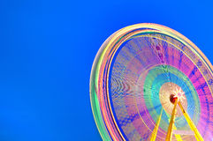 Circular carousel background. Royalty Free Stock Photo