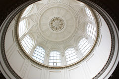 Circular ceiling Royalty Free Stock Images