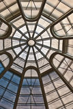 Circular Ceiling Pattern. Ceiling Pattern on a museum in New York Stock Images