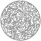 Circular concentric arrows. Cyclic, cycle arrows. Arrow element Stock Photos