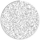 Circular concentric arrows. Cyclic, cycle arrows. Arrow element Royalty Free Stock Photo