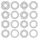 Circular decorative elements for design Royalty Free Stock Photo
