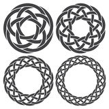 Circular decorative elements for design Royalty Free Stock Photography