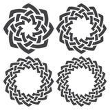Circular decorative elements for design Royalty Free Stock Photos