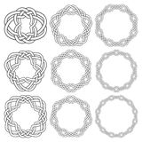 Circular decorative elements for design Stock Photo