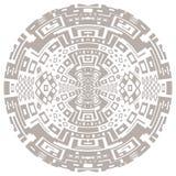 Circular decorative geometric ethnic pattern ornament vector illustration Stock Photography