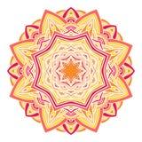 Circular decorative ornament, arabic pattern Royalty Free Stock Photography