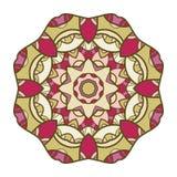 Circular decorative ornament, mandala, arabic pattern Stock Photography