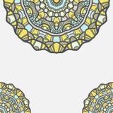 Circular decorative ornament, ornate pattern Royalty Free Stock Photo