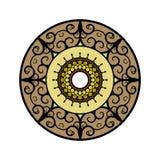 Circular design stock photo