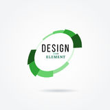 Circular design element. Abstract vector illustration with preload bar. Stock Photo