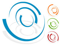 Free Circular Design Element, Logo Shape 4 Different Version With 4 Stock Photography - 81812662