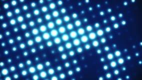 A circular do dance party do DJ ilumina o fundo de 2 Loopable ilustração royalty free