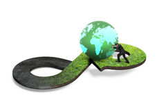 Circular economy concept Royalty Free Stock Photos