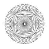 Circular elegante monocromática Imágenes de archivo libres de regalías